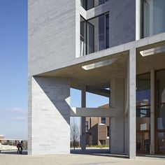 waaaat? | Medical School and Student Residences at the University of Limerick by Grafton Architects | Architecture