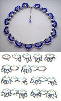 DIY Fashion Beads Bracelet DIY Fashion Beads Bracelet by diyforever Seed Bead Jewelry, Bead Jewellery, Beaded Jewelry Patterns, Bracelet Patterns, Diy Jewellery Designs, Jewelry Design, Jewelry Accessories, Fashion Beads, Diy Fashion