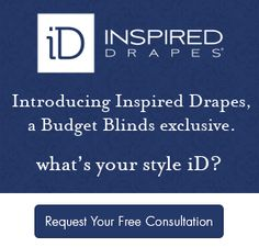 Call for in-home consultation for window treatments throughout home Budget Blinds, Custom Window Treatments, Window Coverings, Budgeting, Shades, Windows, Window Treatments, Window Sun Shades, Budget Organization
