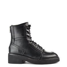 Ash Schuhe Neal Boots aus Leder Schwarz Damen - http://on-line-kaufen.de/ash-2/ash-schuhe-neal-boots-aus-leder-schwarz-damen