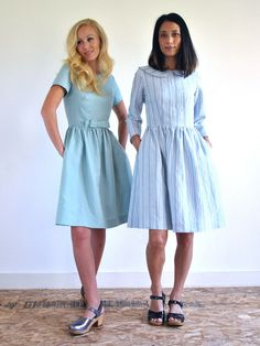 Emery Dress now available as PDF Pattern!
