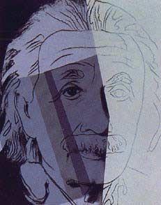 Andy Warhol: Ten Portraits of Jews of the Twentieth Century: Albert Einstein, 1980