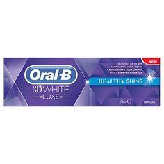 Oral-B 3D White Luxe Healthy Shine Toothpaste - 75 ml Oral B http://www.amazon.co.uk/dp/B00EJJ6188/ref=cm_sw_r_pi_dp_z-tdvb0EV00T6