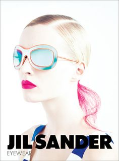 Campaign: Jil Sander Season: Spring 2011 Photographer: Willy Vanderperre Model(s): Daria Strokous