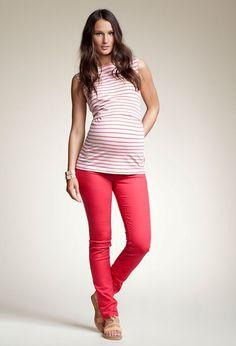 Maternity stretch jeans