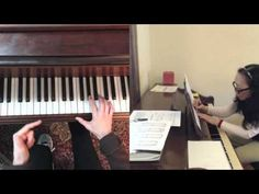 Multiple SKYPE CALL RECORDER Playback views for a Piano Lesson: J.C. Bach Prelude in A minor | Arioso7's Blog (Shirley Kirsten)
