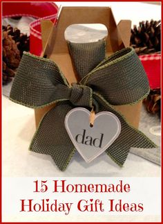 Homemade Christmas Gifts Ideas You'll Love!