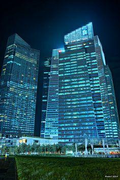 HDR Photo: Marina Bay Financial Centre, Singapore