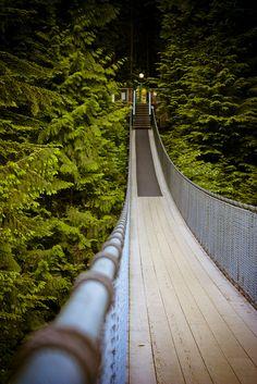 Capilano Suspension Bridge by ash2276, via Flickr
