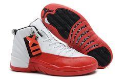 Buy Mens Air Jordan 12 Retro White/Varsity Red-Black For Sale Discount from Reliable Mens Air Jordan 12 Retro White/Varsity Red-Black For Sale Discount suppliers.Find Quality Mens Air Jordan 12 Retro White/Varsity Red-Black For Sale Discount and preferabl Cool Jordans, Cheap Jordans, New Jordans Shoes, Nike Air Jordans, Men's Shoes, Cheap Nike, Shoes 2017, Retro Jordans, Jordans Sneakers