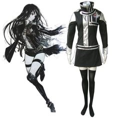 D.Gray-man Lenalee Lee 1ST Cosplay Costumes