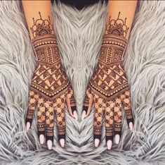 Jaali Mehendi Design Bridal Mehndi Designs, Bridal Henna, Henna Designs, Flower Designs, Mehendi Simple, Henna Style, Wedding Rituals, Wedding Scene, Cute Elephant