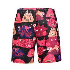 Surf Shorts, Swimwear Fashion, Summer Shorts, Ladies Dress Design, Printed Shorts, Surfing, Men's Bottoms, Beach, Casual