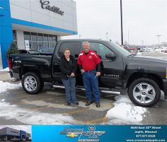 Happy Anniversary to Melissa Liveoak on your 2012 #Chevrolet #Silverado 1500 from John Goertzen  and everyone at Crossroads Chevrolet Cadillac! #Anniversary