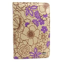 JAVOedge Poppy Book Case with Multi-Angle Stand for the Amazon Kindle Fire (Plum Purple) Latest Generation by JAVOedge. $30.99. Add a vintage feel to your Kindle Fire with our Plum Purple Kindle Fire Book Case. Our Poppy Cases are abloom with brightly colored wildflowers printed onto beige colored background. The coated canvas material of the case makes cleaning the case safe and easy. The Book Case design with a built-in frame safely keeps your Fire inside at all times and cutou...