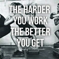 "in-pursuit-of-fitness: "" Work Hard. on We Heart It - http://weheartit.com/entry/179864799 """