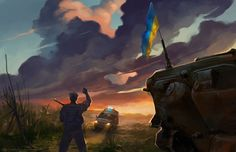 Phoney war in East Europe. Soldiers of Ukraine Army guarding the country against the russian soldiers, mercenaries and various other bands. Almost every day some of them killed in this strange war....