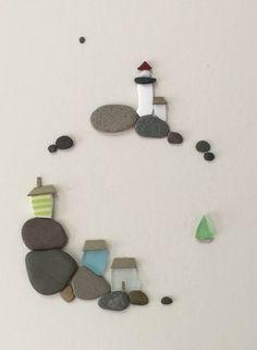 A minimalizmus maximuma. Mesélő művészet: kavicsból kirakott jelenetek…