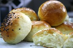 delicious and soft buns for burgers