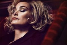 Jessica Lange, is the new face of Marc Jacobs Beauty. Get the inside scoop on the designer's latest inspiration—straight from the set of our photo shoot on the #Sephora Glossy> @Marc Jacobs Beauty