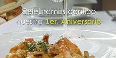 Acompáñanos y celebra con nosotros el primero de muchos años, dándote la mejor calidad y servicio.