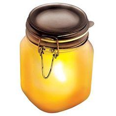 SUCK UK Solar Sun Jar - Yellow