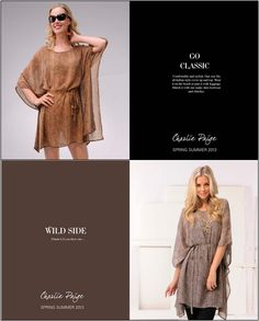 Kaftan style cover ups, dress it up or down.