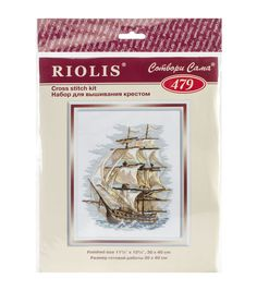 Riolis 11.75''x15.75'' Counted Cross Stitch Kit-Ship