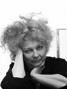 Marlene Dumas. Foto: Peter Cox.  In het Stedelijk Museum Amsterdam, van 6 september - 4 januari 2015.