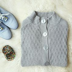 {The Limited} Button Down Cardigan -Has some fuzz balls -Selling the shoes as well! The Limited Sweaters Cardigans