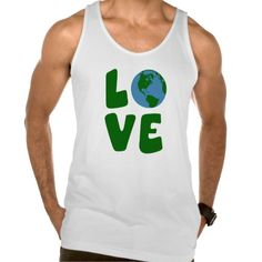 Love the Mother Earth Planet Tank Tank Tops