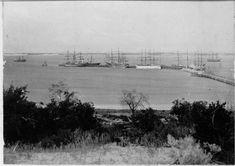 Sailing ships at Bunbury Jetty, ca. Wa Gov, Historical Photos, Sailing Ships, Past, Old Things, History, Pictures, Outdoor, Image