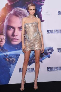 Cara Delevingne – 'Valerian and the City of a Thousand Planets' Premiere in Mexico City