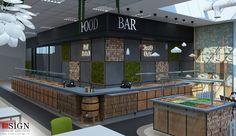Autoservire 1 – proiect in stil modern - Studio inSIGN Restaurants, Studio, Interior, Modern, Projects, Design, Indoor, Log Projects, Study