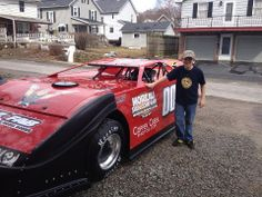 Chase Carnahan 10 year old latemodel dirt race car driver.