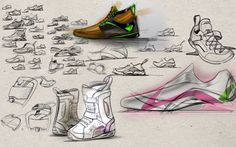 Sketching by Romy Martin, via Behance