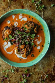 Lentil Kafta in Spicy Tomato Curry Sauce