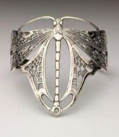 Art Nouveau dragonfly armband