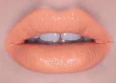 Lime Crime Cosmopop: pastel orange lipstick!