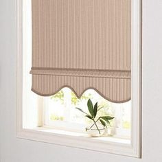 Roller Shades With Scalloped Bottom