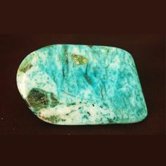 143ct Earth Mined Rare Natural Turquoise Gemstone For Pendant Size Jewelry vj