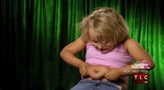 The moment when you realised you're just fat.