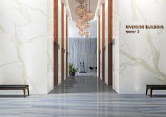Azul Macaubas 19347 Tiles London, Leed Certification, Gray Polish, Italian Marble, Marble Effect, White Tiles, Get Directions, Shape Design, Green Building