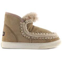 Mou Boots Mini Eskimo Sneaker Camel - MOU #mouboots #mousale #moubootssale #BlackFriday