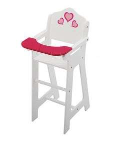 Look what I found on #zulily! New York Doll Collection High Chair by Toys4usa #zulilyfinds