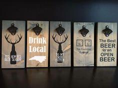 Bottle/Beer Opener Ideas-  Michigan for Andrew, Open Beer for Kirk