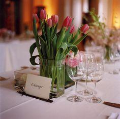 Spring Tulips Wedding Flowers