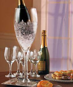 Jumbo Wine Glass cooler