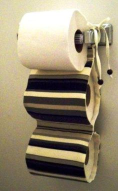 Toilet Paper Holder This would be most ideal