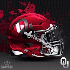 The Best College Football Alternate Helmet Concepts Oklahoma Sooners Football, Football Gear, Notre Dame Football, Sport Football, Indiana Football, Football Tops, Football Stuff, Football Season, Dallas Cowboys